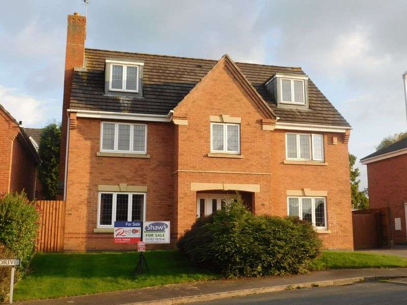 5 Bedrooms Property for sale in Oak Drive, Stoke-On-Trent