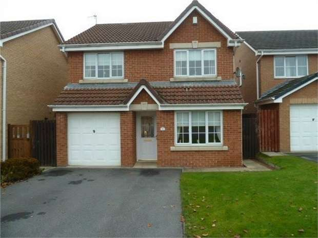 4 Bedrooms Detached House for sale in Bluebell Drive, Spennymoor, Durham
