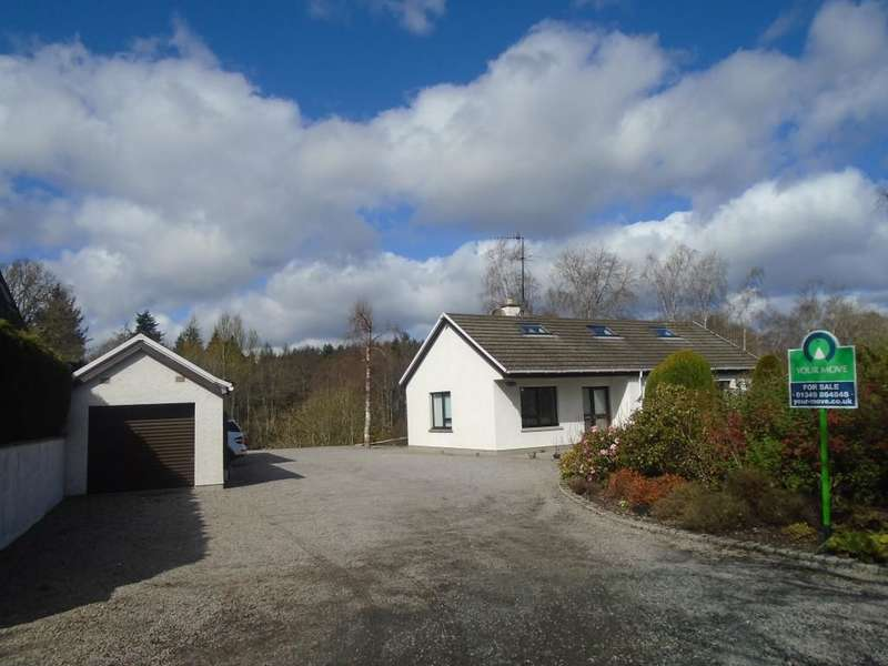 4 Bedrooms Detached House for sale in West Road, Muir Of Ord, IV6