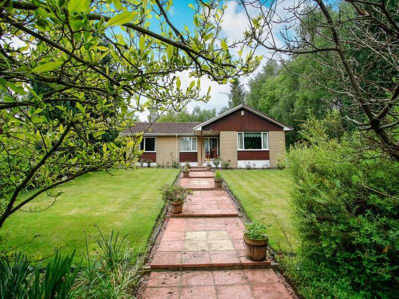 4 Bedrooms Detached Bungalow for sale in Shura Closeburn, Thornhill, DG3