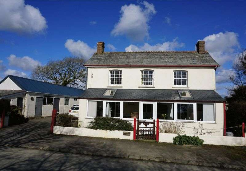 5 Bedrooms Detached House for sale in Canworthy Water, Launceston