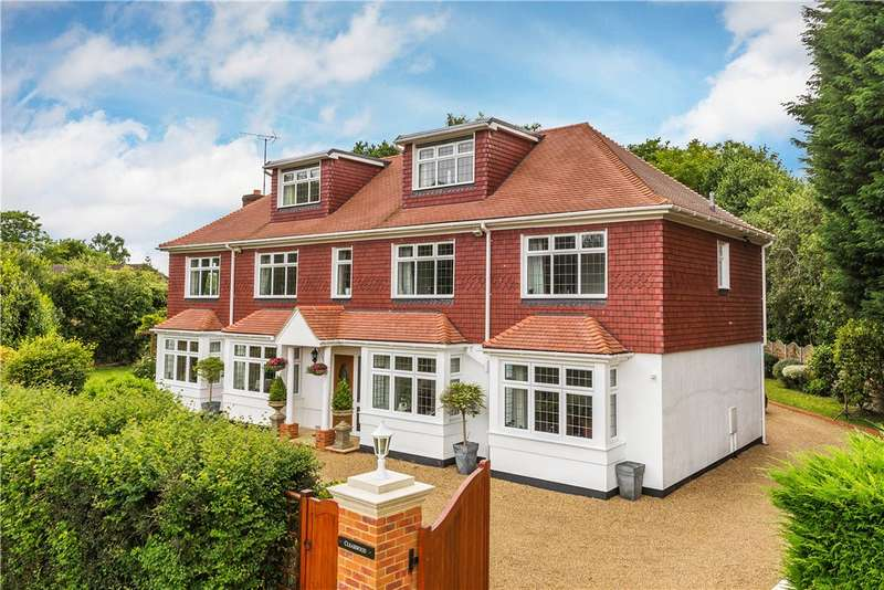 5 Bedrooms Detached House for sale in Steep Hill, Chobham, Woking, Surrey, GU24