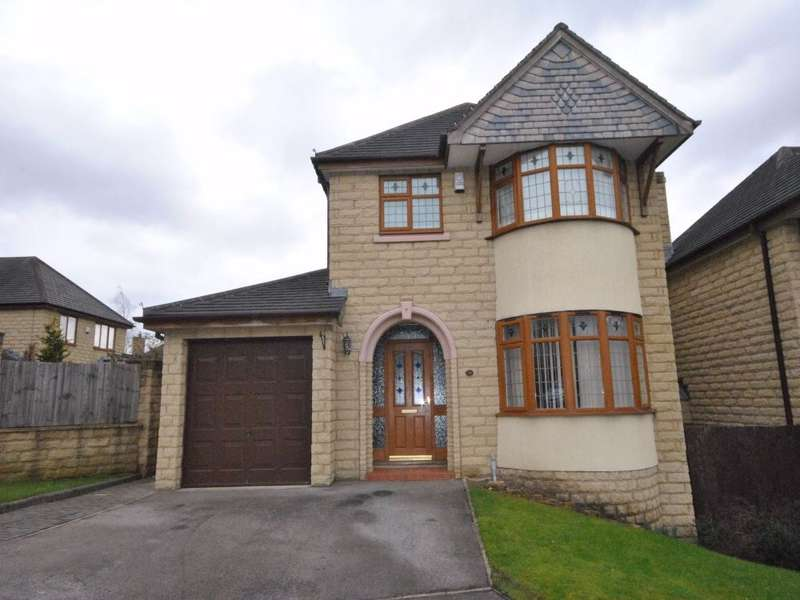 3 Bedrooms Detached House for sale in Victoria Chase, Bailiff Bridge, BRIGHOUSE, West Yorkshire