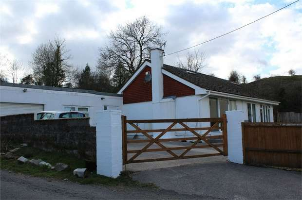 4 Bedrooms Detached Bungalow for sale in Mount Pleasant, Heolgerrig, Merthyr Tydfil, Mid Glamorgan