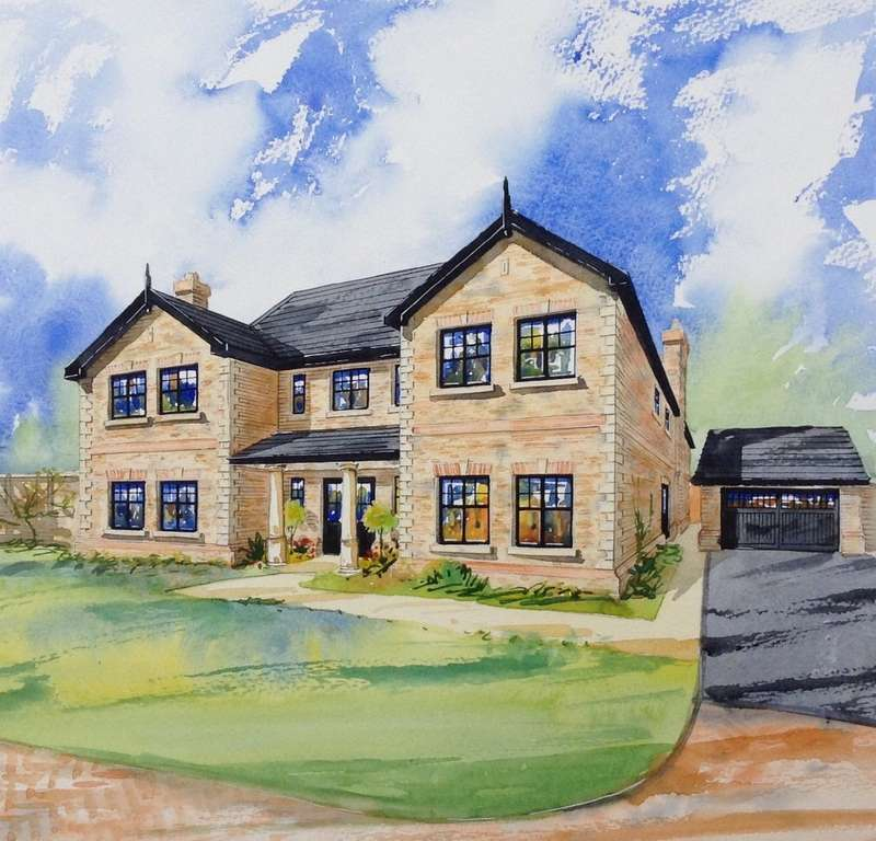 5 Bedrooms Detached House for sale in The Davenport, Northwich Road, Cranage