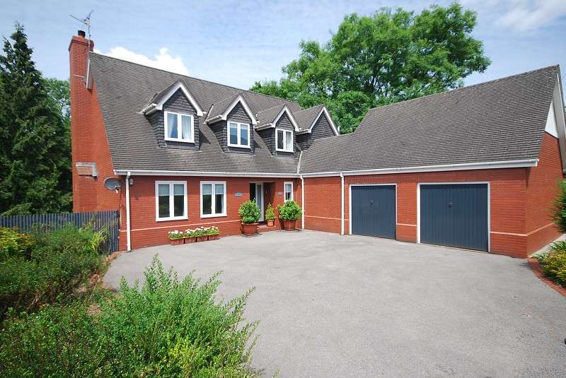 4 Bedrooms Detached House for sale in Fields Park Road, Newport, Gwent. NP20 5BA