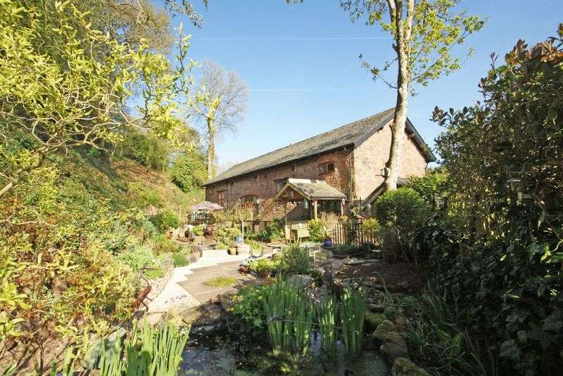 3 Bedrooms House for sale in Wonderful barn conversion with orchard and woodland, Bolham, Tiverton