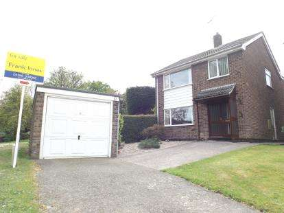 3 Bedrooms Detached House for sale in Brook Close, Holymoorside, Chesterfield, Derbyshire