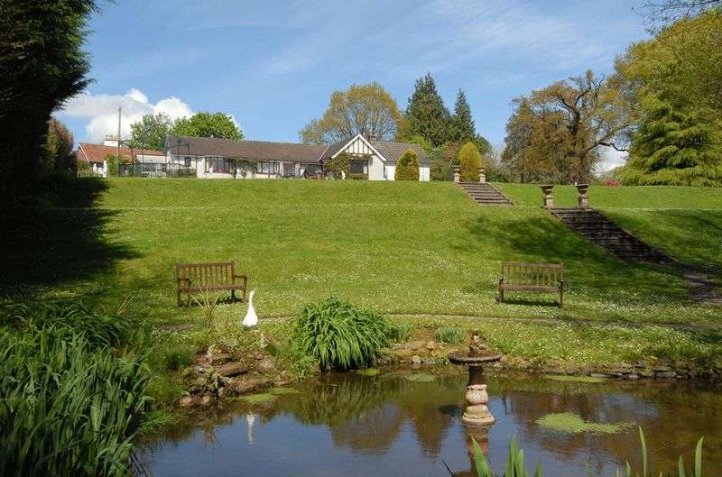 4 Bedrooms Detached Bungalow for sale in Nantyderry, Between Abergavenny and Usk