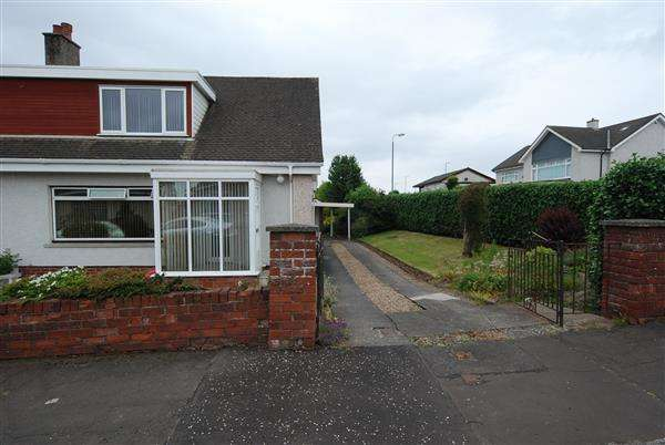3 Bedrooms Semi Detached House for sale in Marylove Place, Stevenston