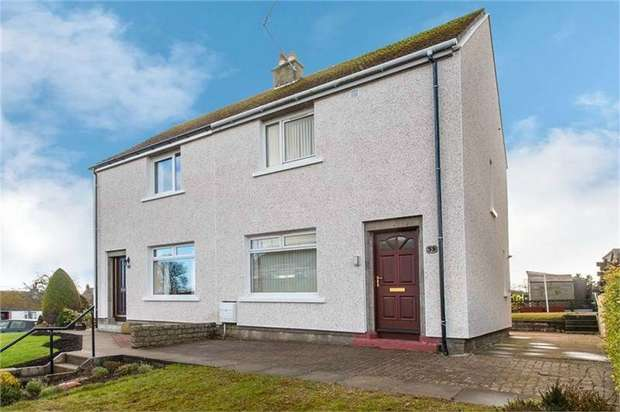 2 Bedrooms Semi Detached House for sale in Christie Crescent, Stonehaven, Aberdeenshire