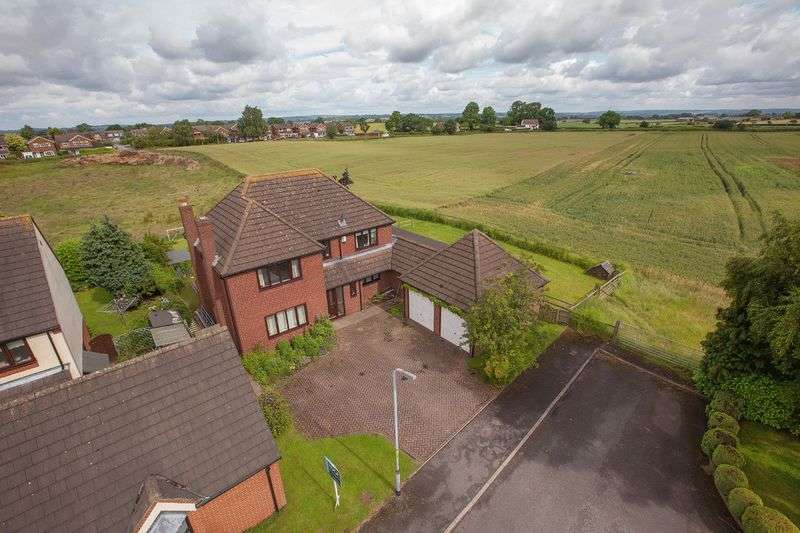 4 Bedrooms Detached House for sale in Woodhaven, Woodseaves, Staffordshire
