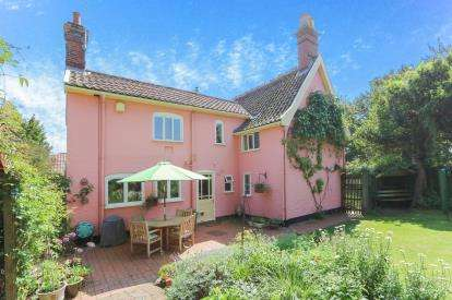 3 Bedrooms Link Detached House for sale in Laxfield, Woodbridge, Suffolk