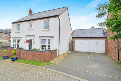 4 Bedrooms Detached House for sale in Meadowsweet Way, Banbury, Oxfordshire