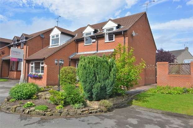 4 Bedrooms Detached House for sale in Woolley Close, Old Tupton, Chesterfield, Derbyshire