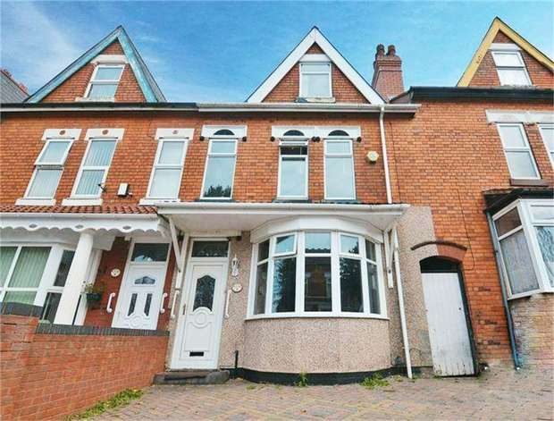 4 Bedrooms Terraced House for sale in St Oswalds Road, Birmingham, West Midlands