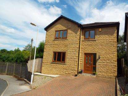 3 Bedrooms Detached House for sale in White Lee Avenue, Trawden, Colne, Lancashire, BB8