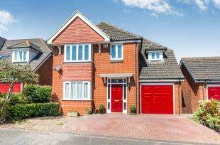 4 Bedrooms Detached House for sale in Riggall Court, Cuxton, Rochester, Kent