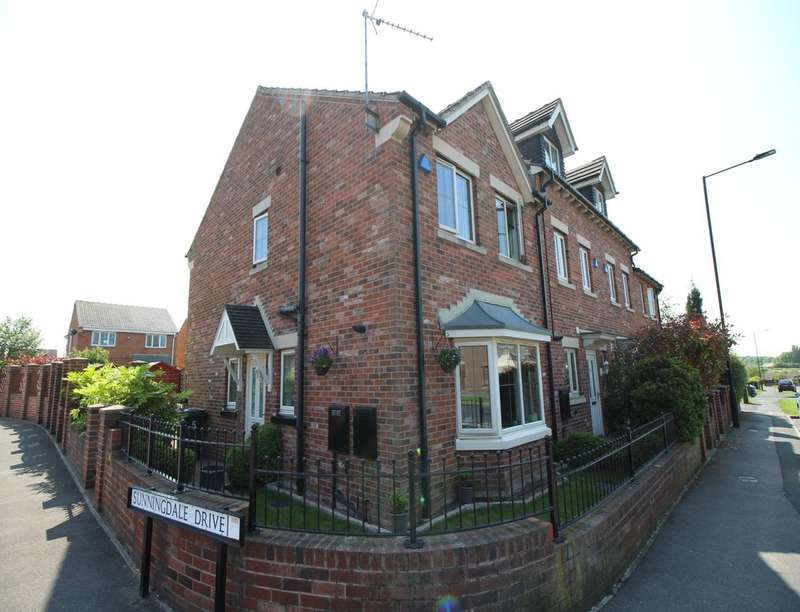 3 Bedrooms Semi Detached House for sale in Fieldview, Edlington, DONCASTER, DN12