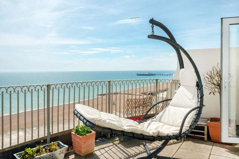 3 Bedrooms Penthouse Flat for sale in Percival Mansions, Percival Terrace, Brighton, East Sussex, BN2