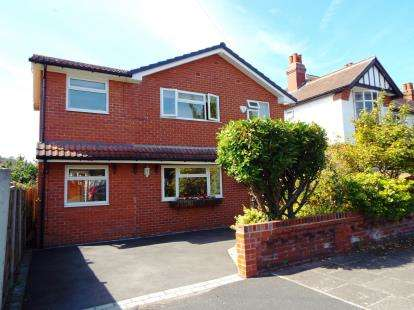 4 Bedrooms Detached House for sale in Chandos Road South, Manchester, Greater Manchester