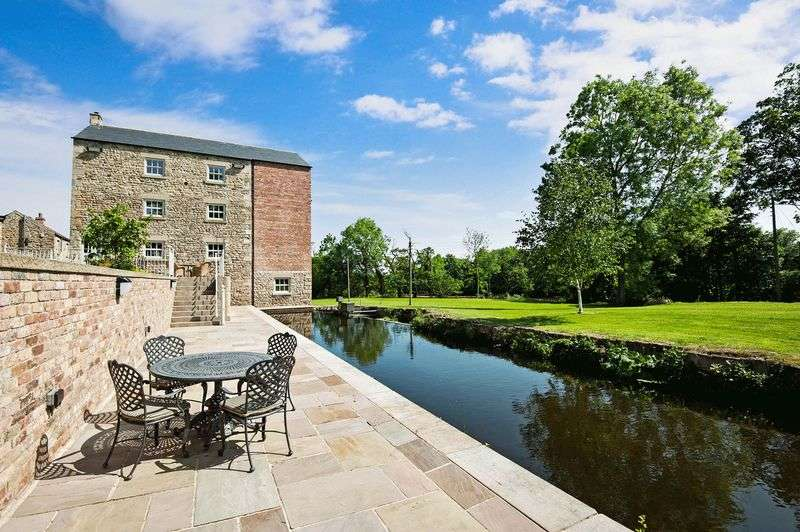 5 Bedrooms Detached House for sale in Tanfield Mill West Tanfield Ripon North Yorkshire HG4 5LF