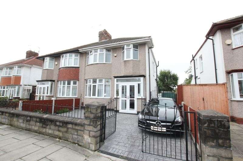 3 Bedrooms Semi Detached House for sale in Poulton Road, Wallasey, Wirral