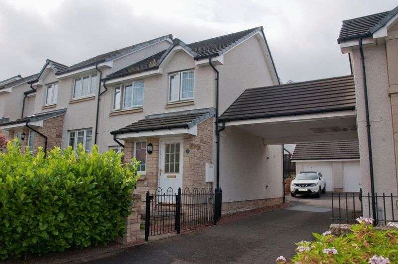 3 Bedrooms Semi Detached House for sale in Corbie Drive, Dalkeith