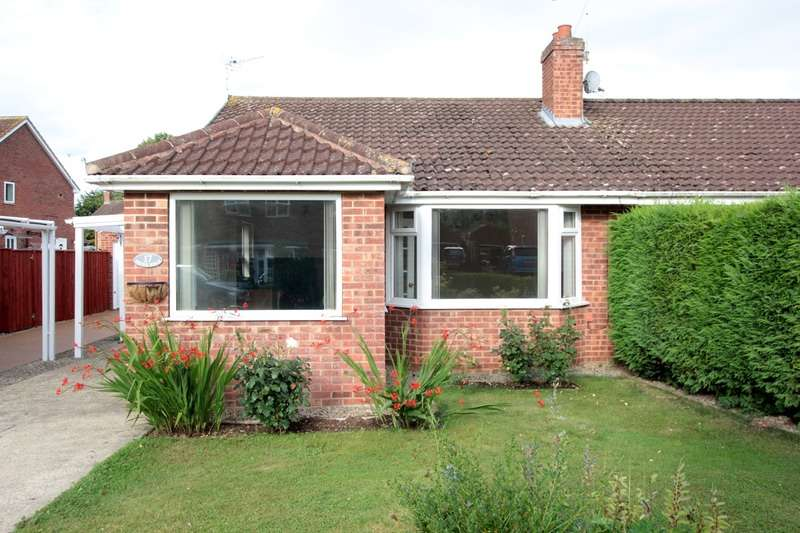 2 Bedrooms Bungalow for sale in Shire Road, Thirsk, North Yorkshire, YO7