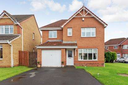 3 Bedrooms Detached House for sale in Scalloway Road, Gartcosh, Glasgow, North Lanarkshire