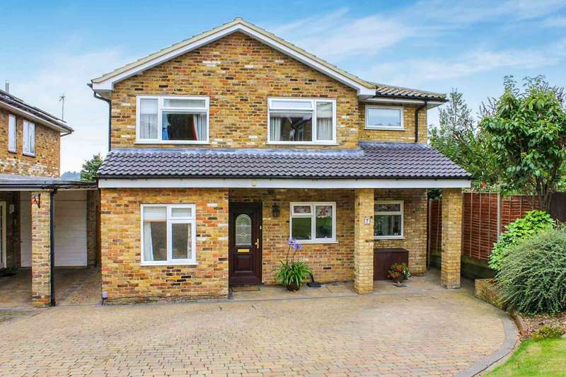 4 Bedrooms Detached House for sale in Marwood Close, Kings Langley