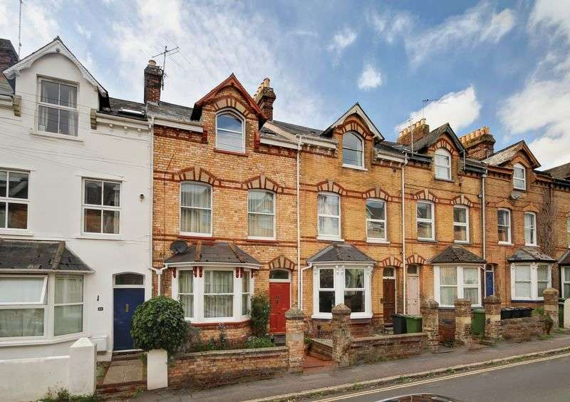 4 Bedrooms Terraced House for sale in Raleigh Road, Exeter