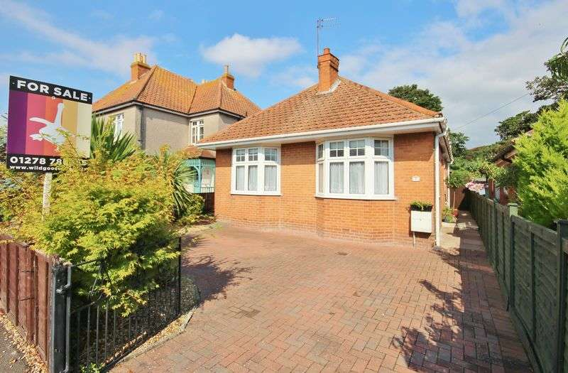 3 Bedrooms Detached Bungalow for sale in St Johns Road, Burnham On Sea