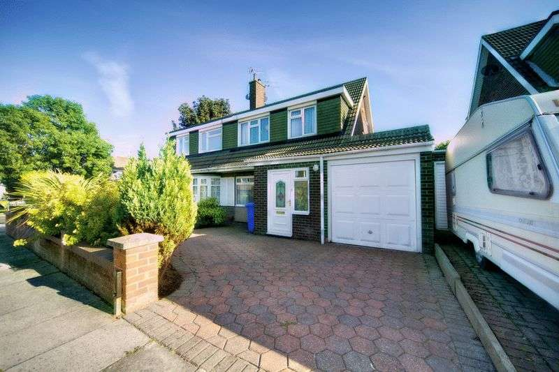 3 Bedrooms Semi Detached House for sale in Mallard Way, South Beach Estate, Blyth