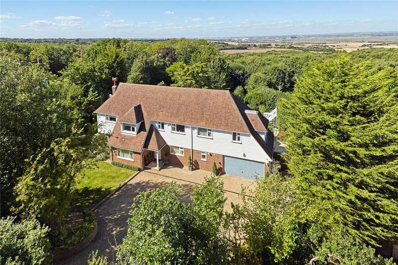 5 Bedrooms Detached House for sale in Pear Tree Lane, Shorne, Kent, DA12