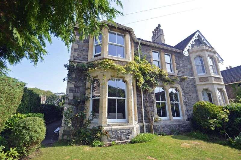 5 Bedrooms Semi Detached House for sale in Queens Road, Clevedon