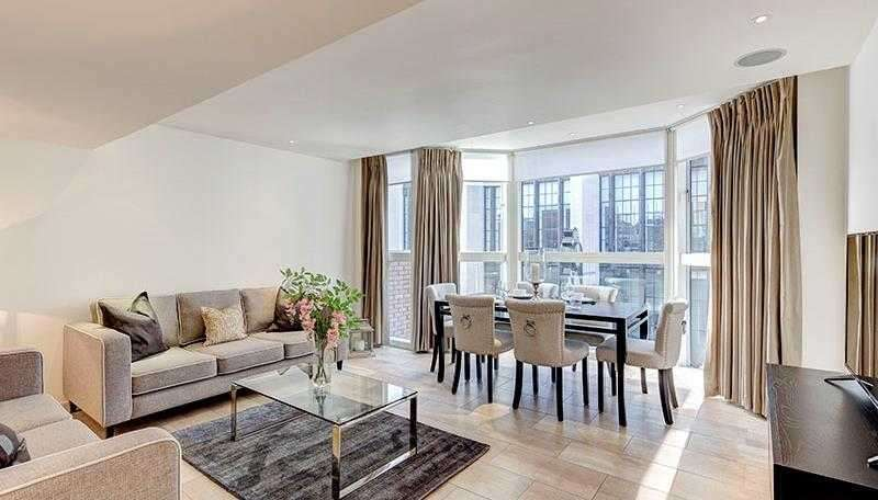 Flat in  Young Street  London  W8  Richmond
