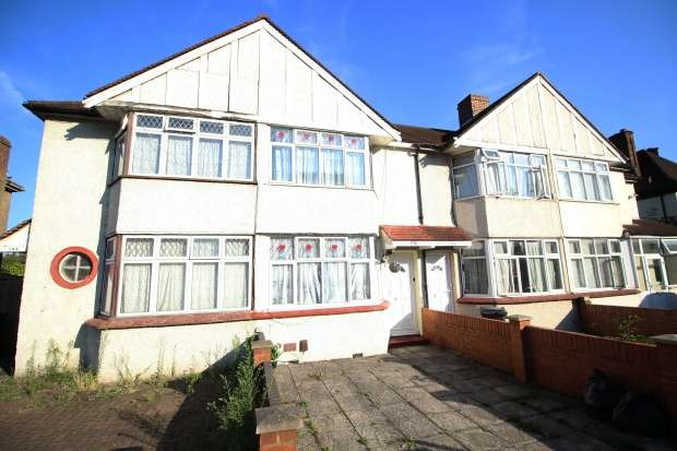 Terraced house in  Hounslow Road  Hanworth  Feltham  Middlesex  TW13  Richmond