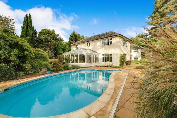 Detached house in  Leigh Hill Road  Cobham  Surrey  KT11  Richmond