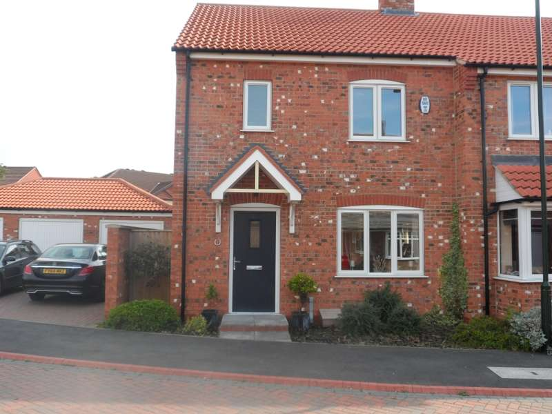3 Bedrooms Semi Detached House for sale in HORSESHOE CLOSE, GRIMSBY, Lincolnshire, DN33