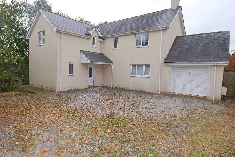 4 Bedrooms Detached House for sale in Parc Road, Llangybi, Usk, Monmouthshire. NP15 1NL