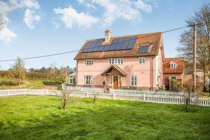 5 Bedrooms Detached House for sale in Chelsworth, Ipswich, Suffolk