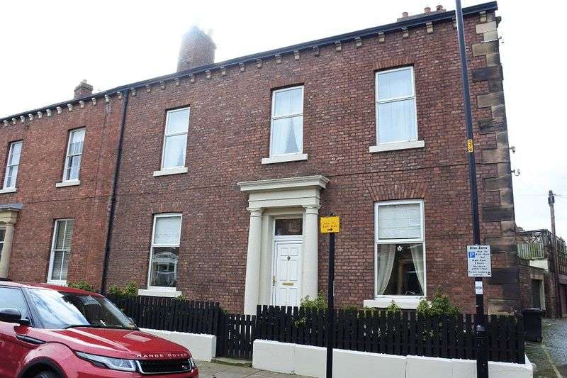 4 Bedrooms Terraced House for sale in Hartington Place, Carlisle