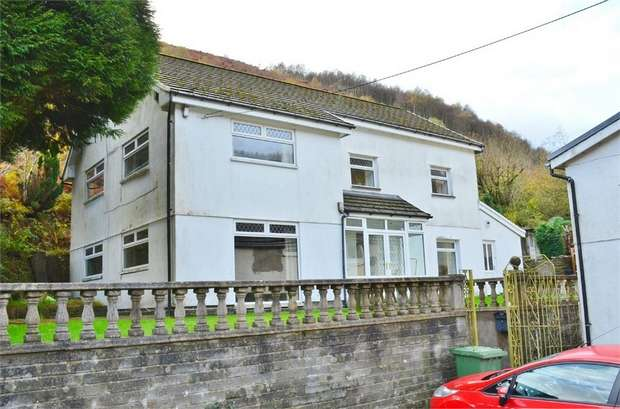 Detached House for sale in Edwards Row, Deri, BARGOED, Caerphilly