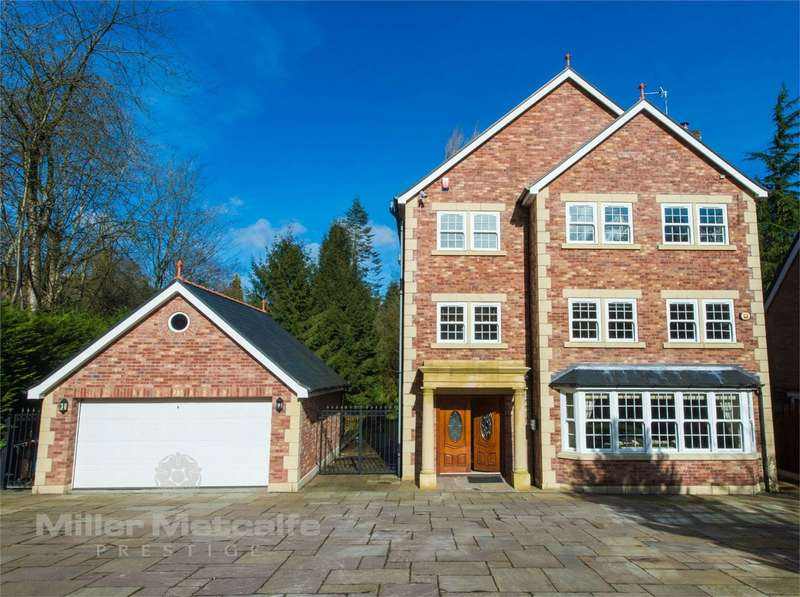 6 Bedrooms Detached House for sale in Chatsworth Road, Worsley, Manchester