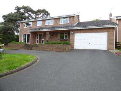 4 Bedrooms Detached House for sale in Bieston Close, Little Acton, Wrexham, Wrecsam, LL13