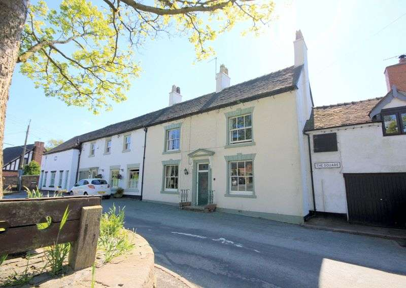 4 Bedrooms Terraced House for sale in The Square, Caverswall
