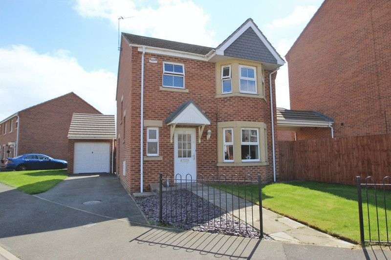 3 Bedrooms Detached House for sale in CASPIAN CRESCENT, SCARTHO PARK