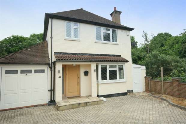 3 Bedrooms Detached House for sale in Ford Close, Ashford, Surrey