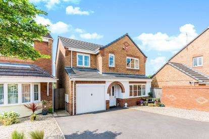 4 Bedrooms Detached House for sale in Vivaldi Drive, Heath Hayes, Cannock, Staffordshire
